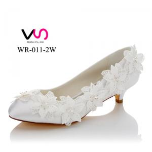 3cm heel WR-011-2B comfortable shoes with follower details