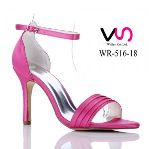 WR-516-18 Pink Color 9cm Heel Height Party Evening Shoes Sandal