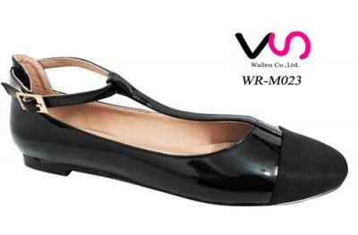 New women's flat  ballerinas with T-strap
