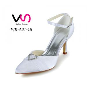 heart shape jellewery decoration handmade bridal shoes